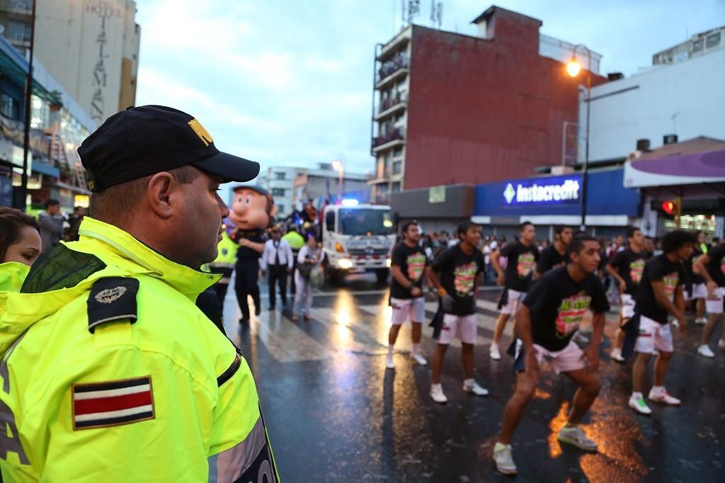 Fuerza Publica de Costa Rica in Action