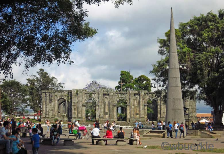 Ruine in Cartago, Costa Rica