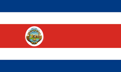 Nationalflagge_Costa_Rica