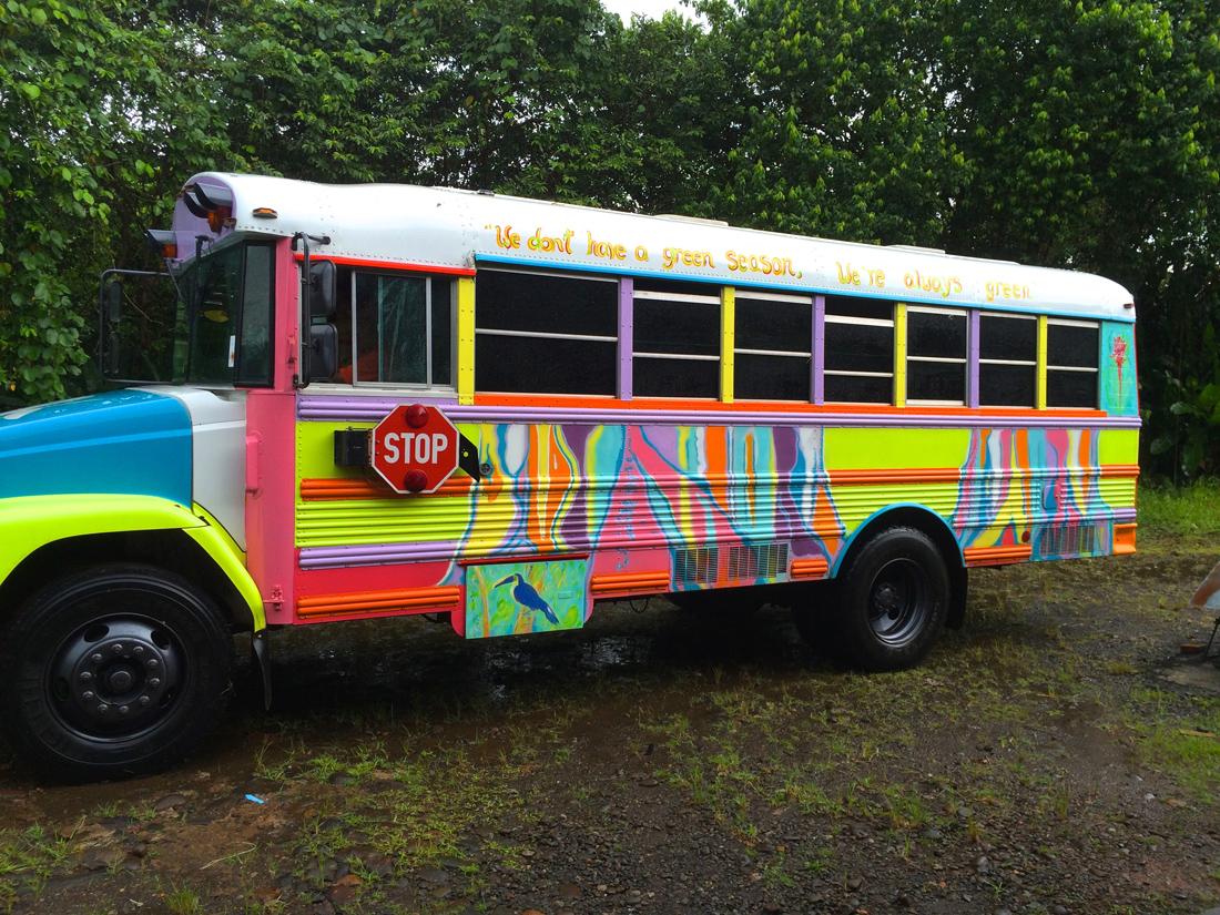 Cinco Ceiba (Schul-)Bus | Foto: Marc Tschallener