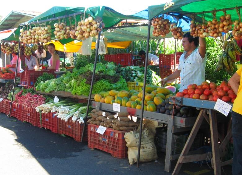 Markt Costa Rica