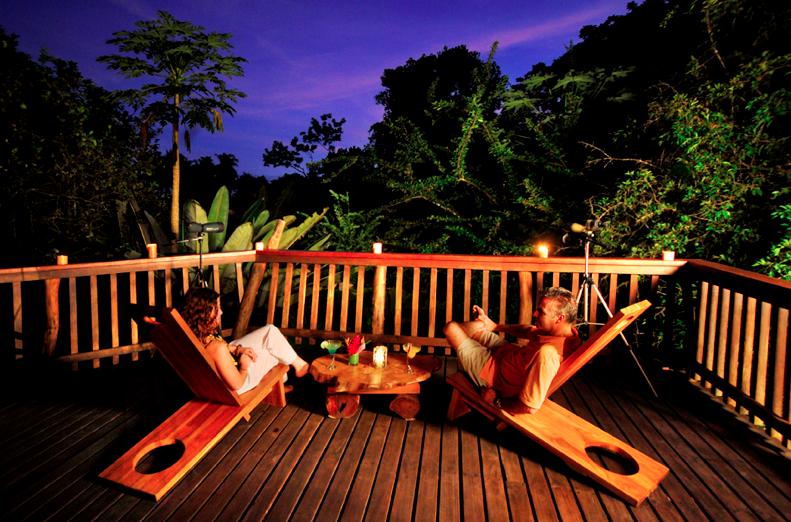 Aussenbereich   Foto: Playa Nicuesa Rainforest Lodge