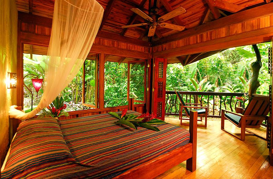 Unterkunft  Foto: Playa Nicuesa Rainforest Lodge