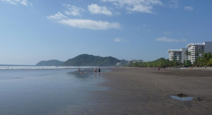 Strand in Jaco Costa Rica