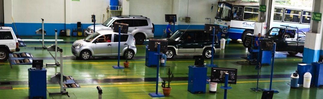 Autoprüfstelle (RTV) in Costa Rica