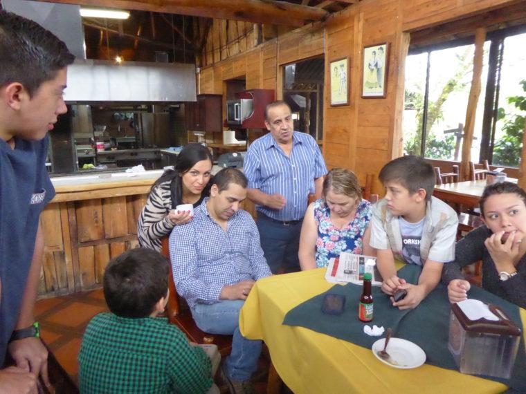 Befreundete Familie Foto Rainer Bölle