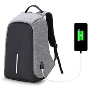 Rucksack mit Sicherheitsfeatures und USB-Ladeoutlet, für Reisen