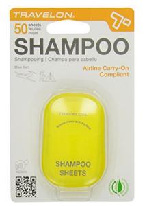 Shampoo Plättchen, die sich auflösen für Reisen