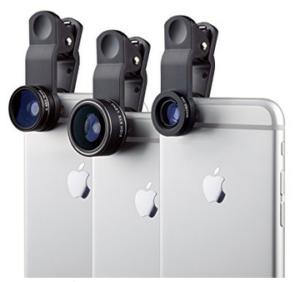 Objektiv-Set für Smartphones, Reisen