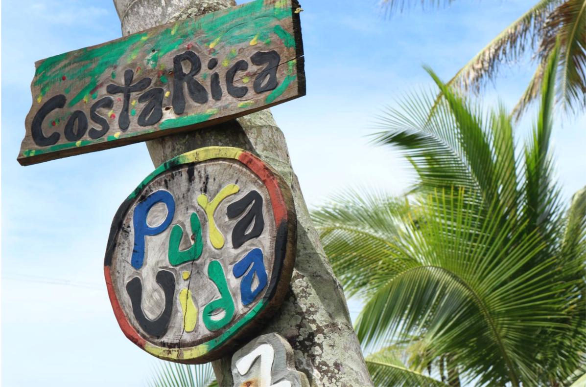 Pura Vida in Costa Rica, Karibik Süd