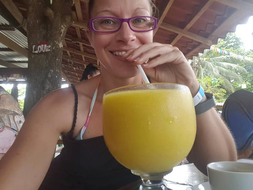 Smoothie, pure Frucht, Costa Rica Karibik Süd