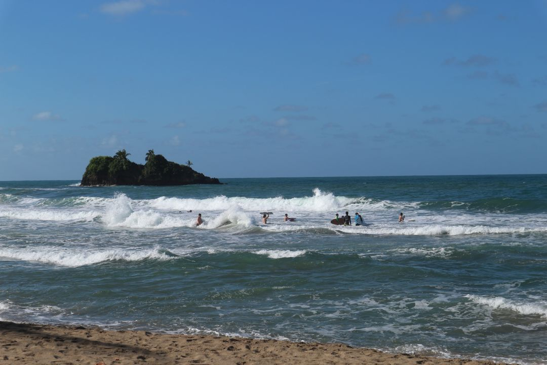 Surfen, Costa Rica, Karibik