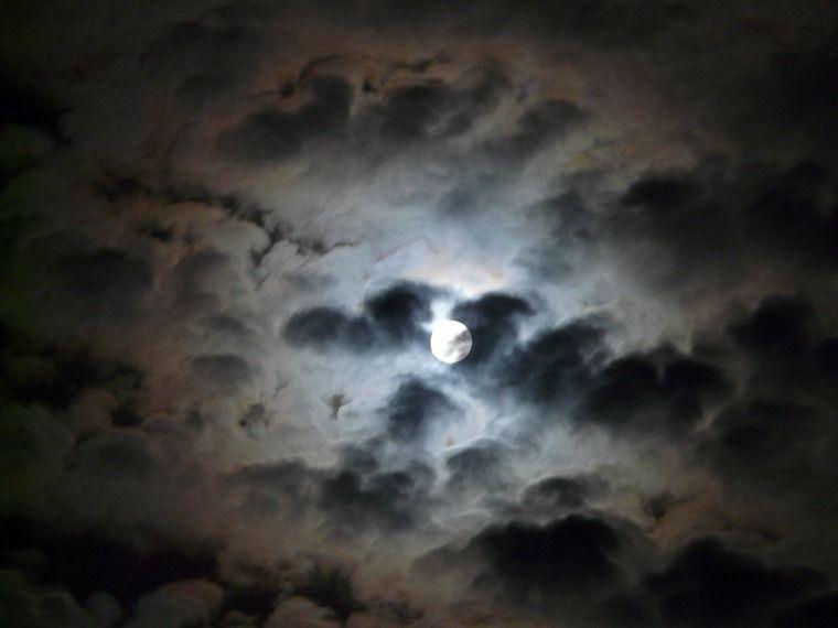Mond-Halo