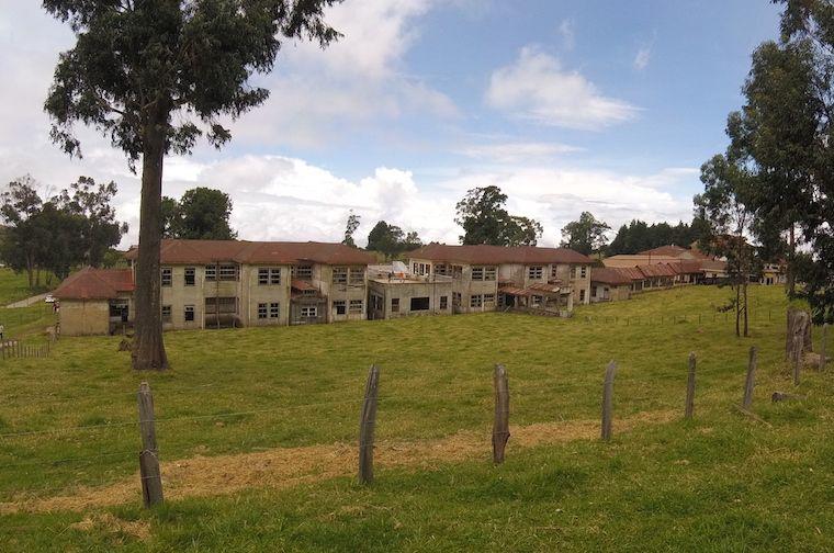Sanatorium Durán bei Cartago (Costa Rica) von Aussen