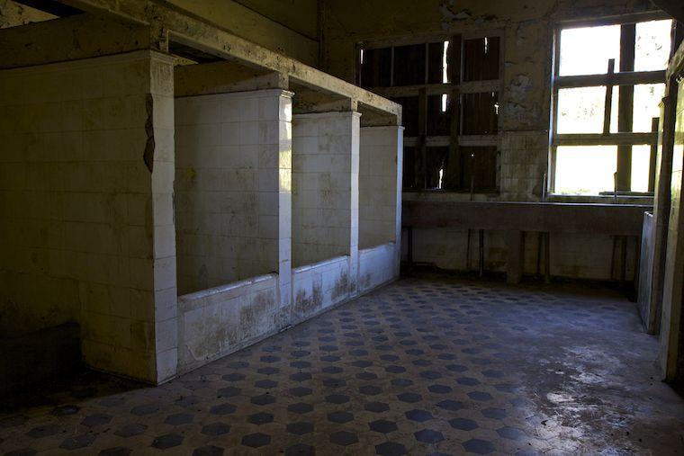 Badezimmer im Sanatorium Durán