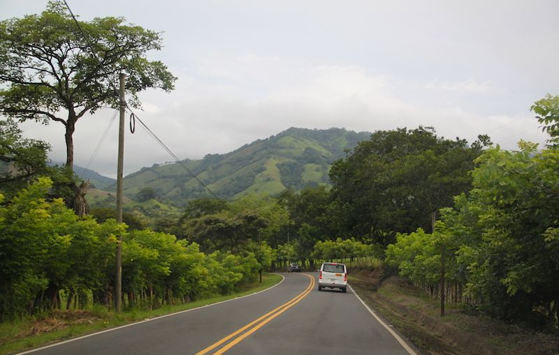 Mit dem Mietwagen in Costa Rica