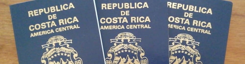 Der costa-ricanische Reisepass