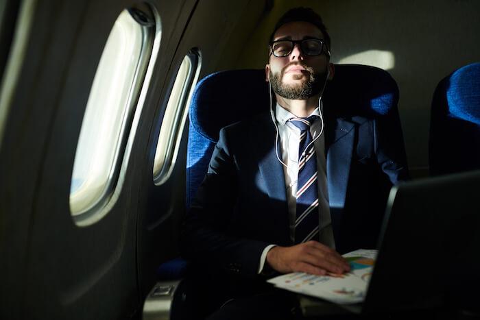 Schlafen und Reisen