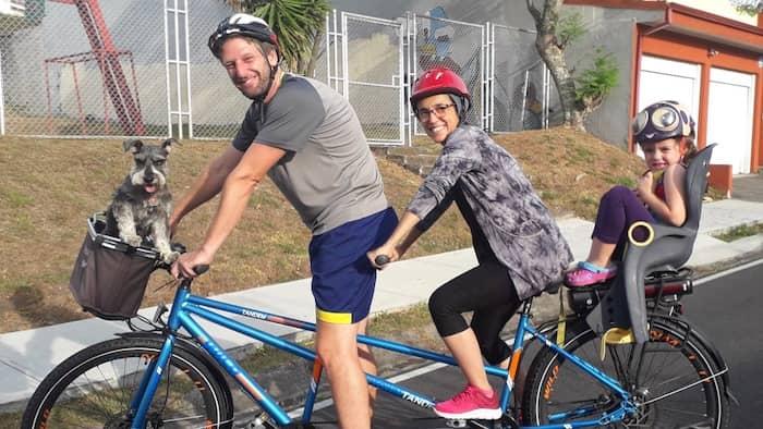 Fahrradfahren in Costa Rica
